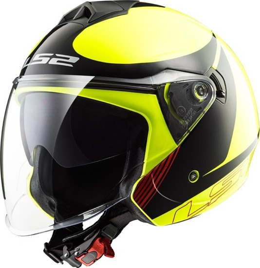 Kask LS2 TWISTER plane h-v yellow